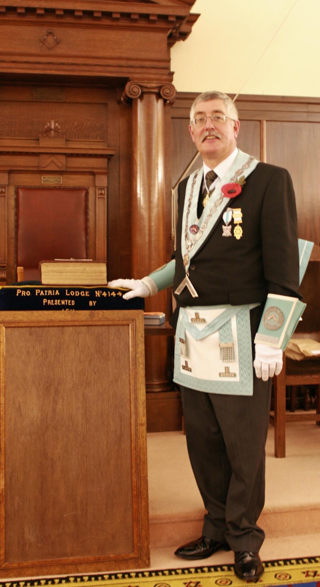 Worshipful Master Pete Barker